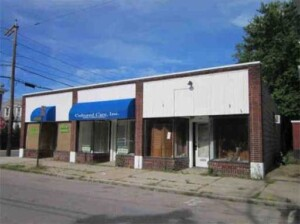 Great corner lot commercial property.